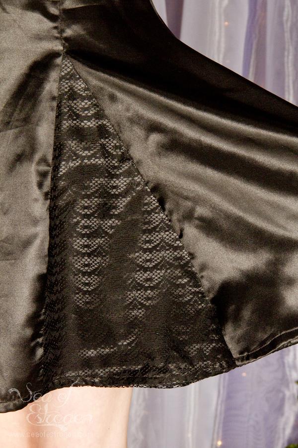 Lace Overlay & Slippery Fabric – November & December TSNEM