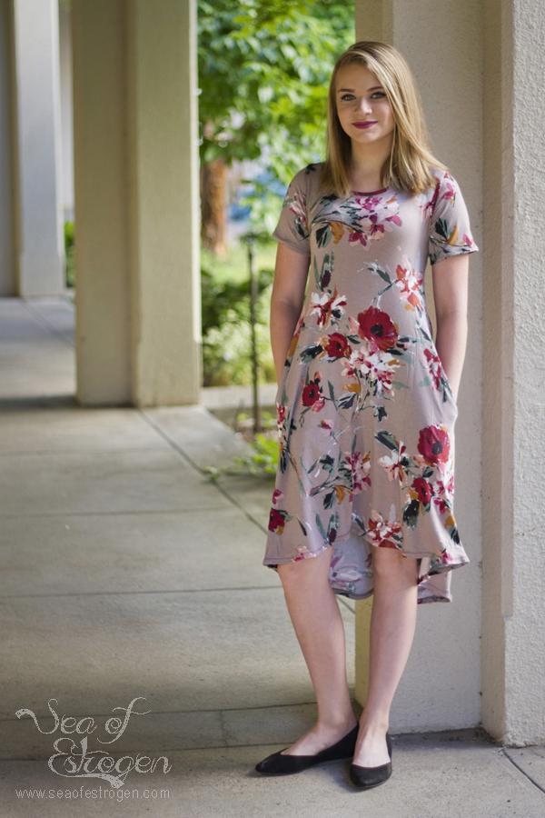 Hazel & Gathers Marjorie Dress Pattern Release