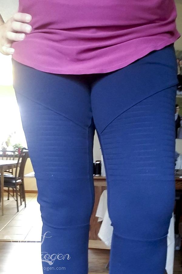 Moto Pants Pattern Hack