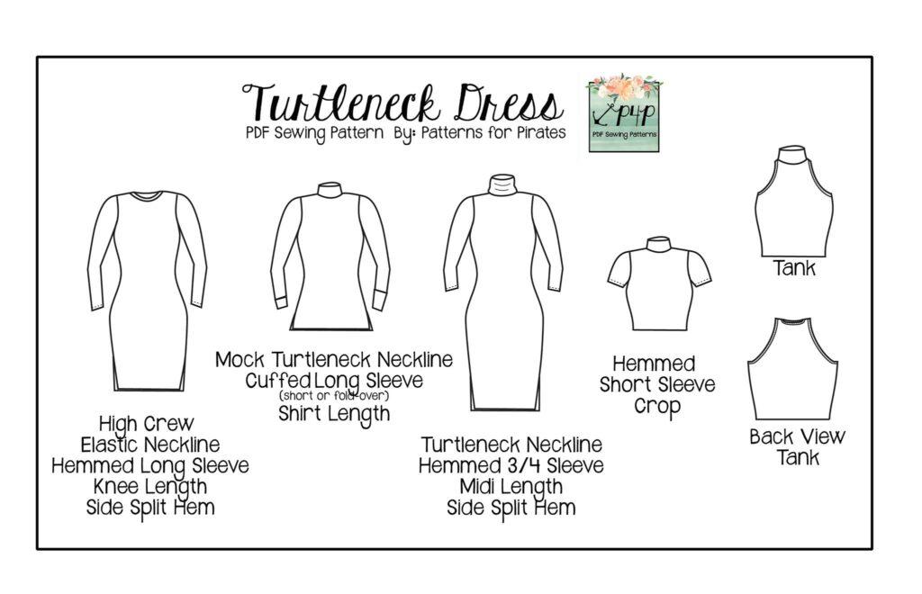 P4P Hepburn Top & Dress