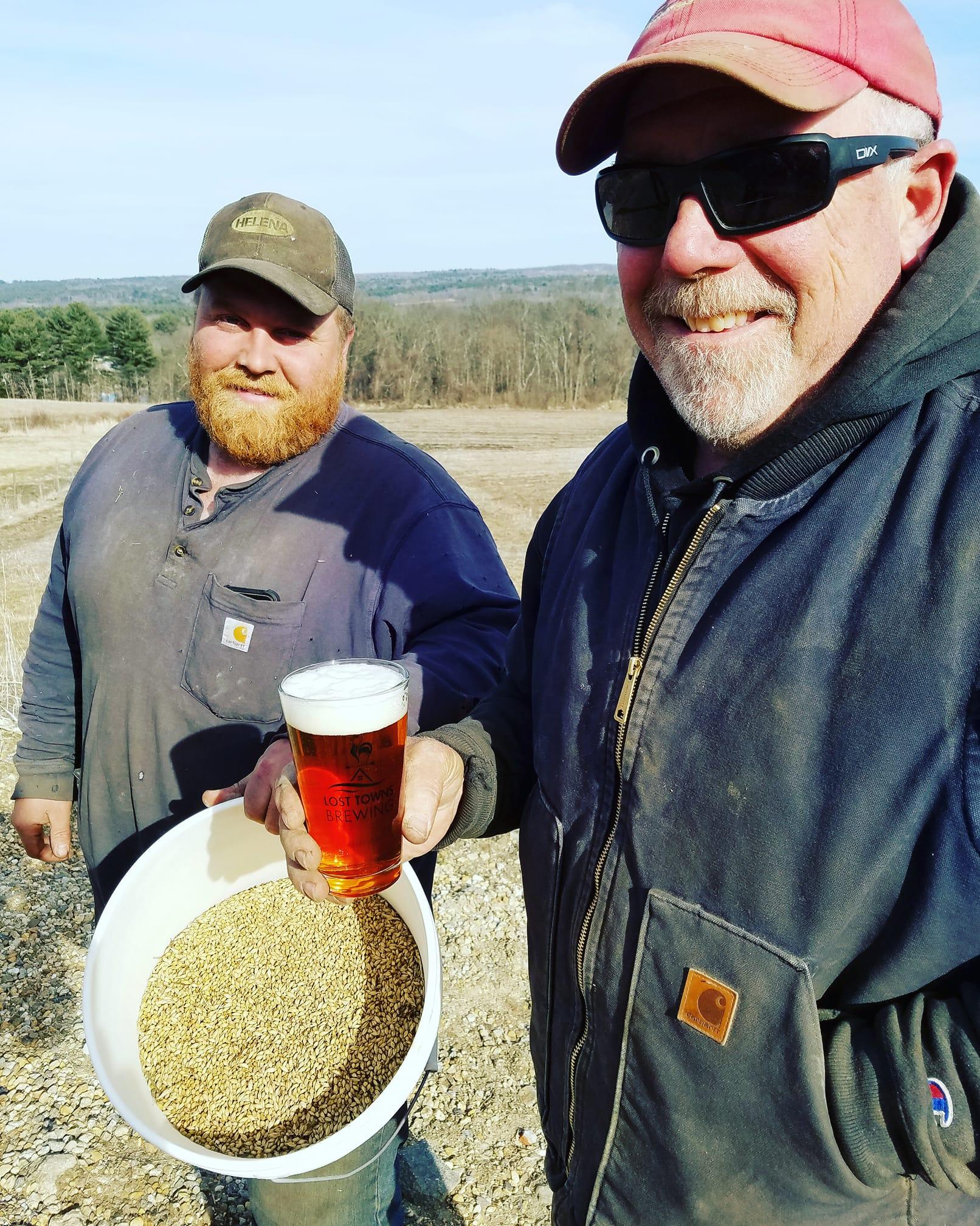 Farm-brewed Beer