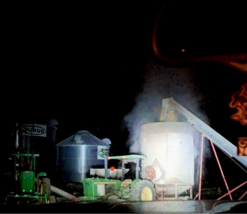 local livestock grain drying