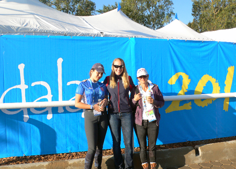 Pan Am Games, 10/16/11 - Frankie, Verena and Ursula