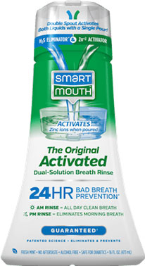 SmartMouth Original Mouthwash bottle