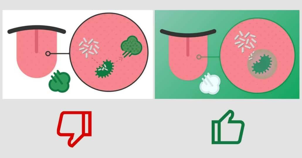 antibacterial mouthwash