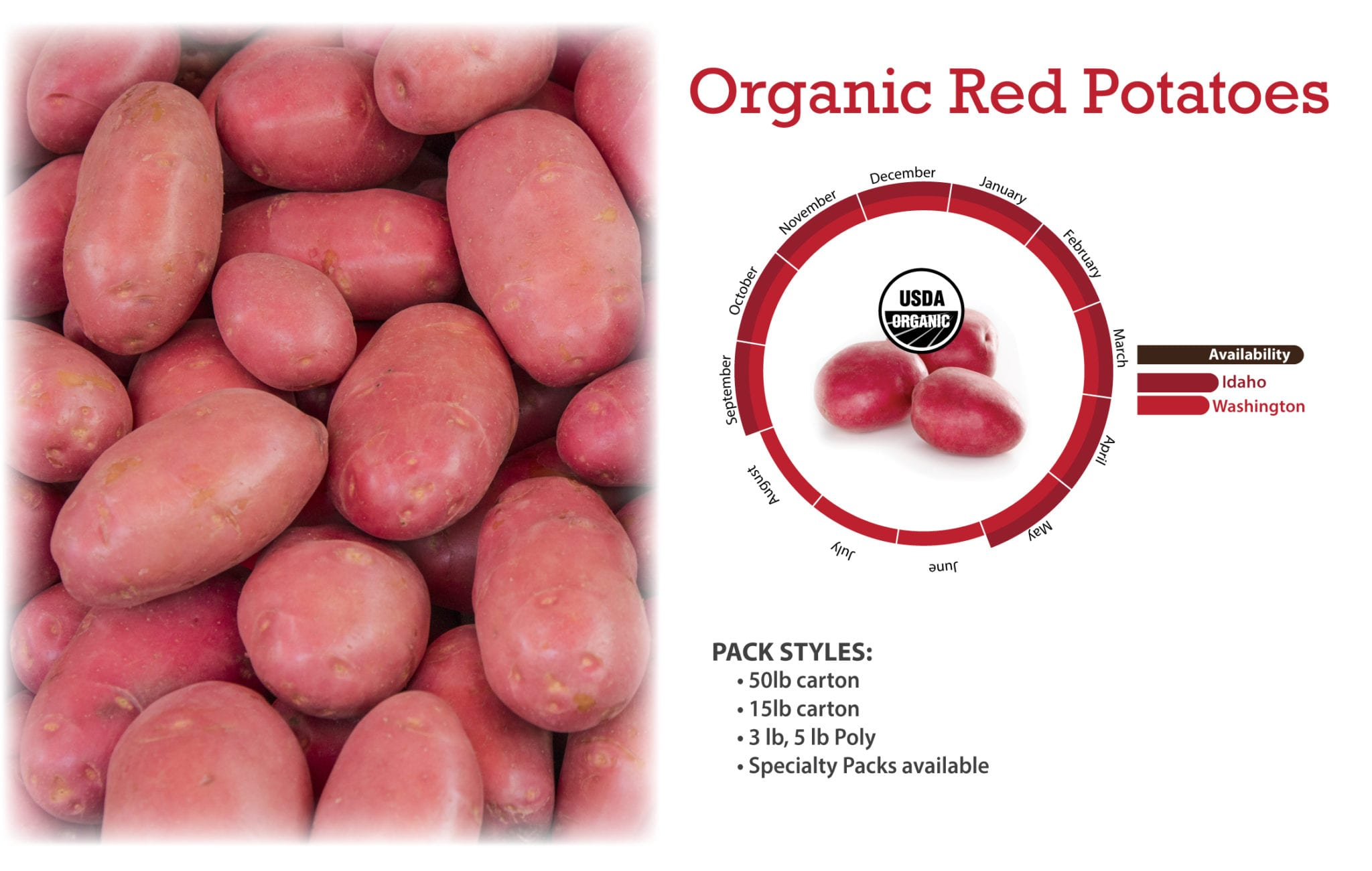 Organic Red Potatoes