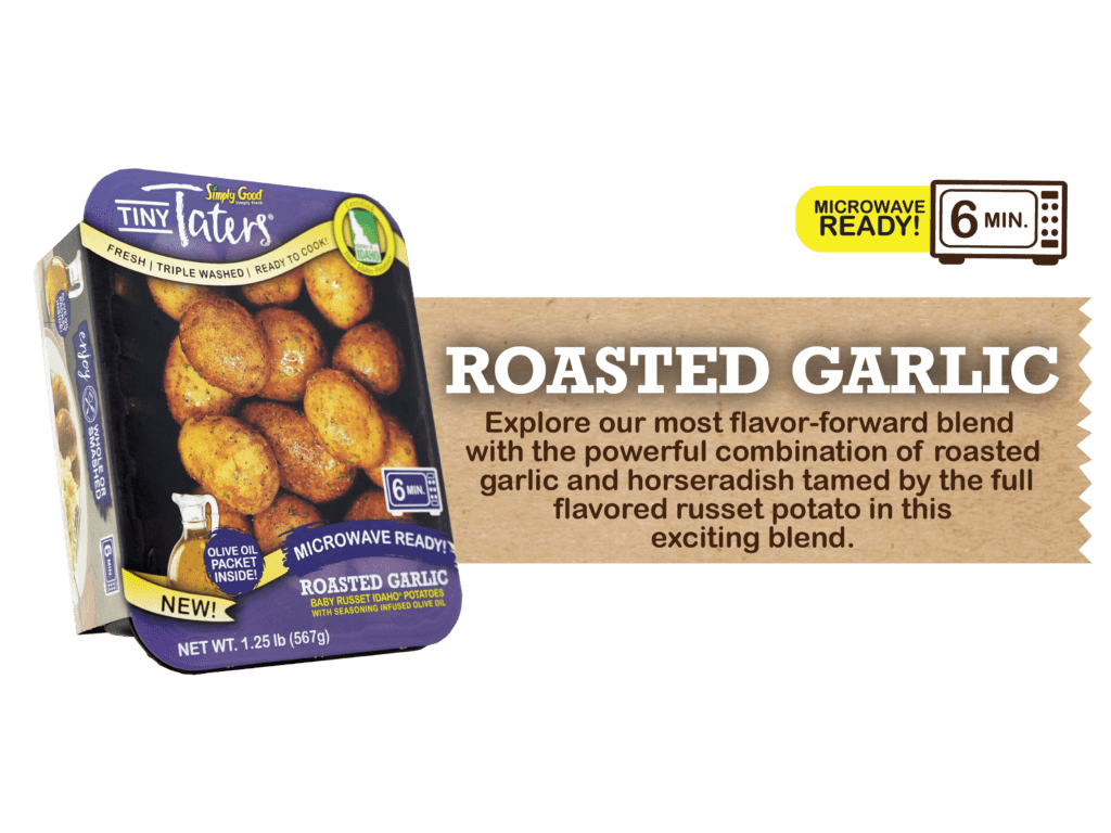 Eagle Eye Produce Tiny Taters Roasted Garlic Flavor