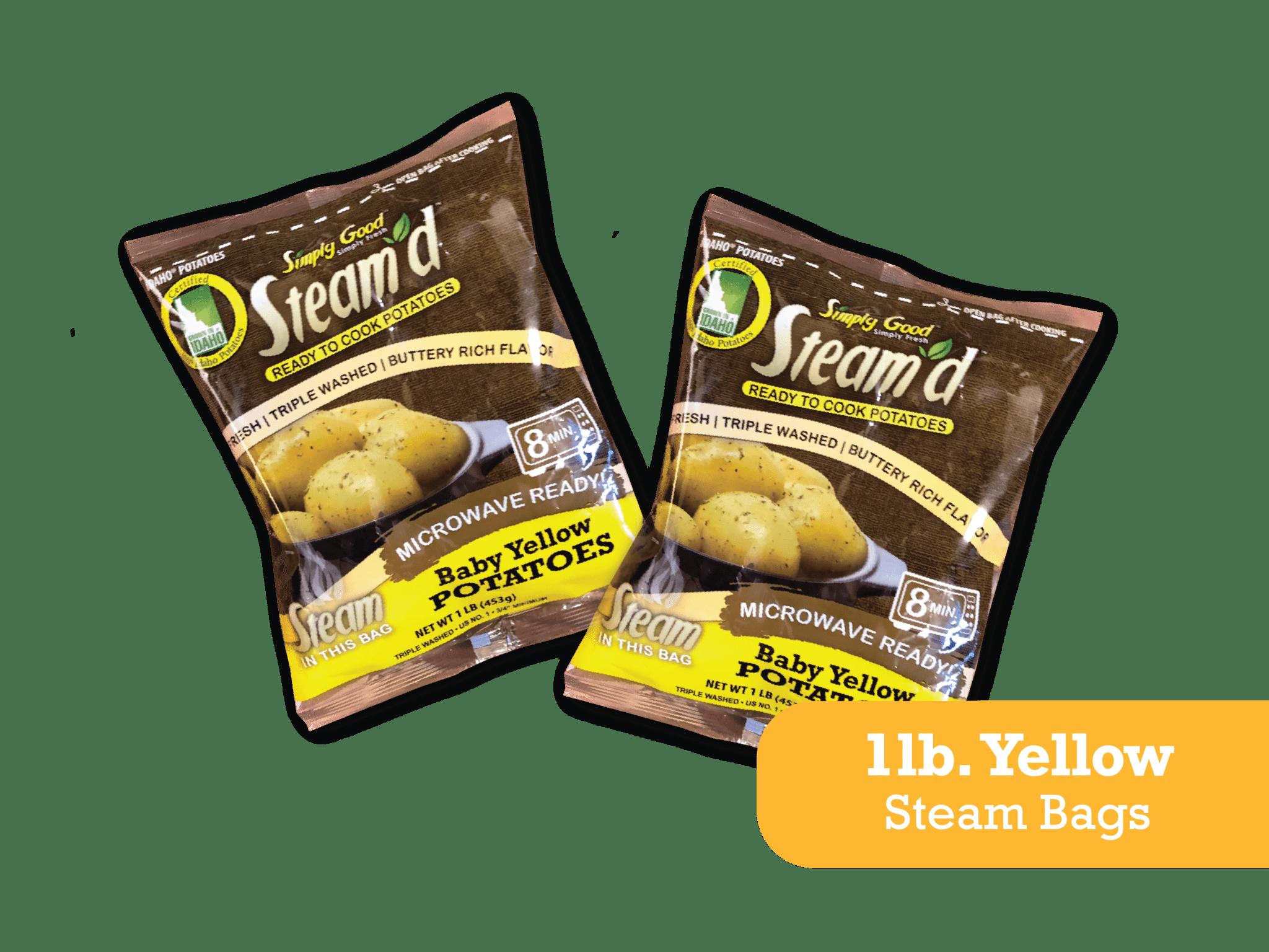 Eagle Eye Produce Steam'd Baby Yellow Potatoes 1 lb steam bags