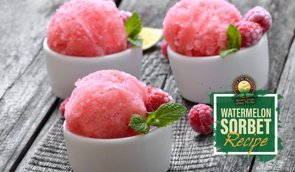 Watermelon Sorbet Recipe