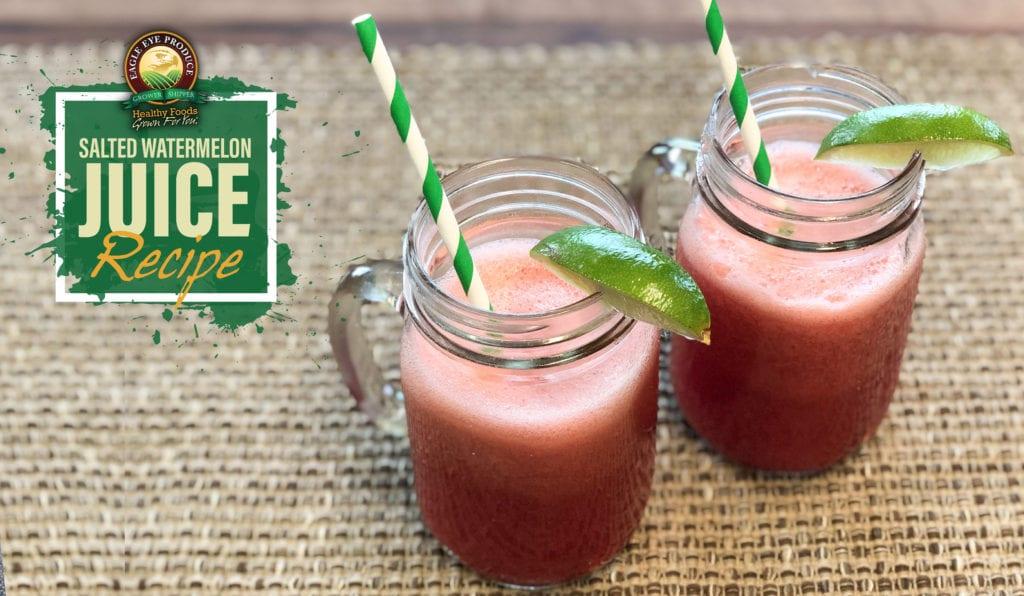 Salted Watermelon Juice Recipe