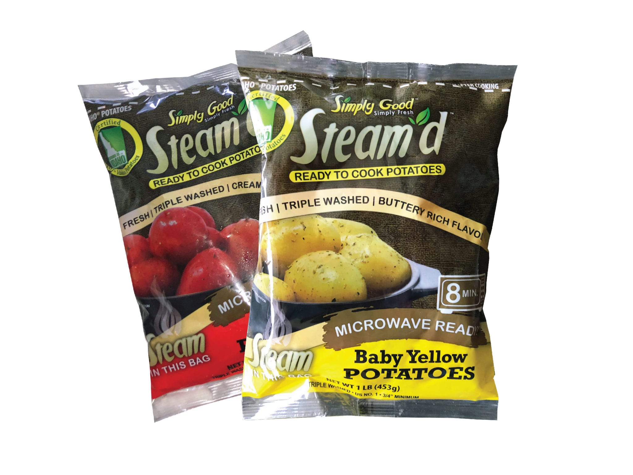Steam'd Ready to Cook Potatoes