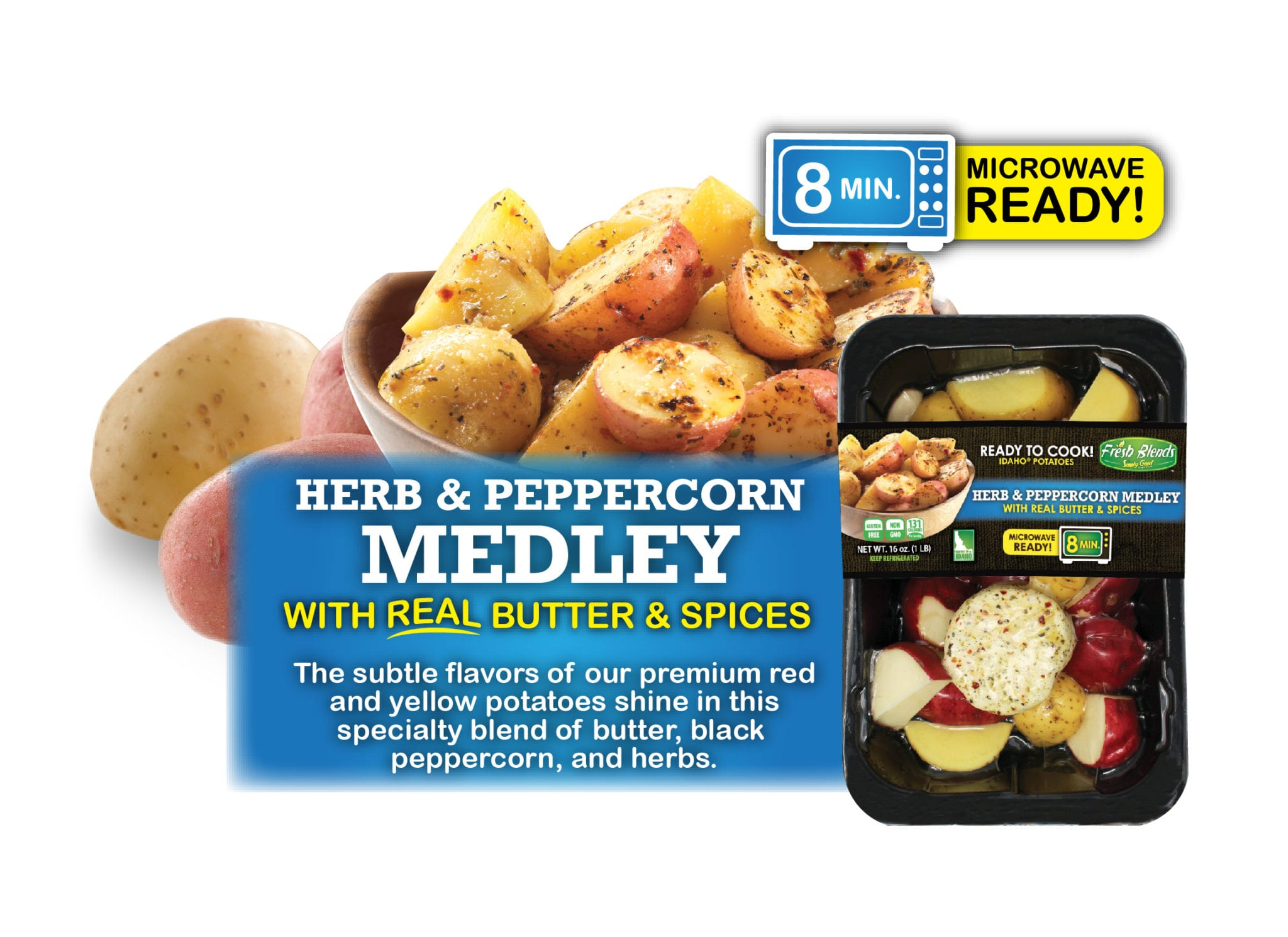 Eagle Eye Produce Fresh Blends Herb and Peppercorn Medley