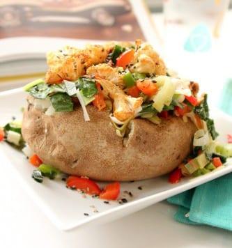 Fully Loaded Baked Potato
