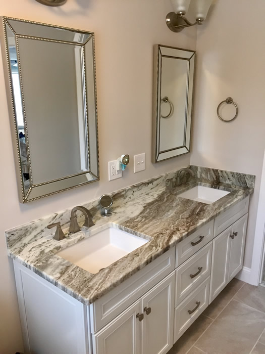 Bathroom Vanity Tops | Montes Marble & Granite NH MA
