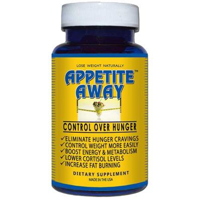 Appetite Away Natural Appetite Suppressant Control over Hunger Boost Energy and Metabolism Weight Loss Supplement