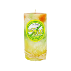 Aroma Naturals Candle Citronella Plus Pillar