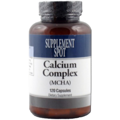 Calcium Complex (MCHA) 120 capsules Dietary Supplement