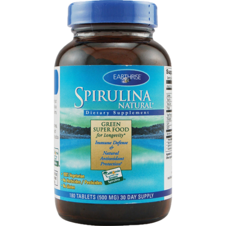 Earthrise Spirulina 500 Mg 90 Tablets