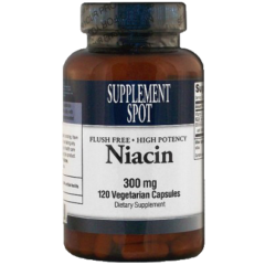 Flush Free Niacin 300 mg 120 Vegicaps