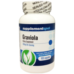 Graviola Dietary Supplement 650 mg 100 Capsules