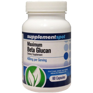 Maximum Beta Glucan 400 mg 60 Capsules