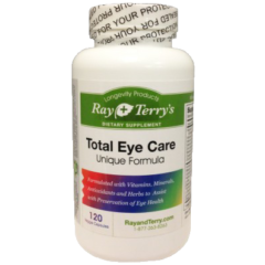 Ray and Terrys Total Eye Care 120 Capsules