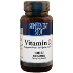 Vitamin D 1000 IU 100 Softgels