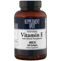 Vitamin E with Mixed Tocopherols 400 IU 240 Softgels