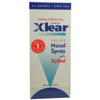 Xlear Saline Nasal Spray with Xylitol