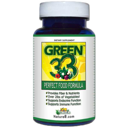 Green 33 Multi Greens Vegetable Supplement (Food Formula)