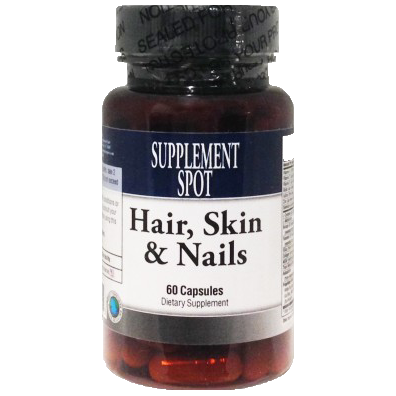 Hair, Skin and Nails 60 Capsules Dietary Supplement
