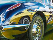 Corvette Car Art Print| Vette on Vette