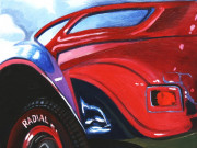 Ford Car Art Print| Hot Rod Reflection