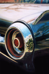 Ford Car Art Print| Thunderbird Taillight