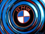 BMW Car Art Print|BMW Logo
