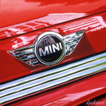 Mini Car Art Print|Mini Cooper S Logo