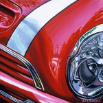Mini Car Art Print|Mini Cooper S Grille