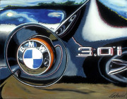 BMW Car Art Print|BMW Z4 3.01