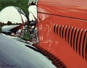 Duesenberg Car Art Print|Pebble Beach Duesenberg