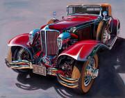 Cord Car Art Print|L29 Cord  Cabriolet