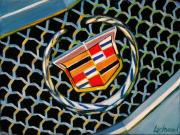 Cadillac Car Art Print|Cadillac Crest