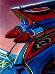 Cadillac Car Art Print|El Dorado