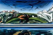 Car Art Print|Tourist on the Avenue