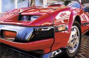 Nissan Car Art Print|Nissan 300ZX Turbo