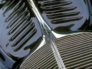 Vintage Car Art Print|Vintage Black & Chrome #2