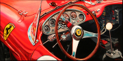 Ferrari Car Art Print|250 Testa Rossa