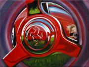 Ferrari Car Art Print|Ferrari Knock-off