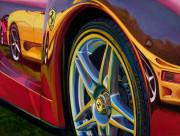 Ferrari Car Art Print|All the Pretty Horses