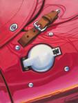 Ferrari Car Art Print|Vintage Ferrari