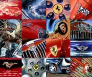Car Art Print|Auto Logos